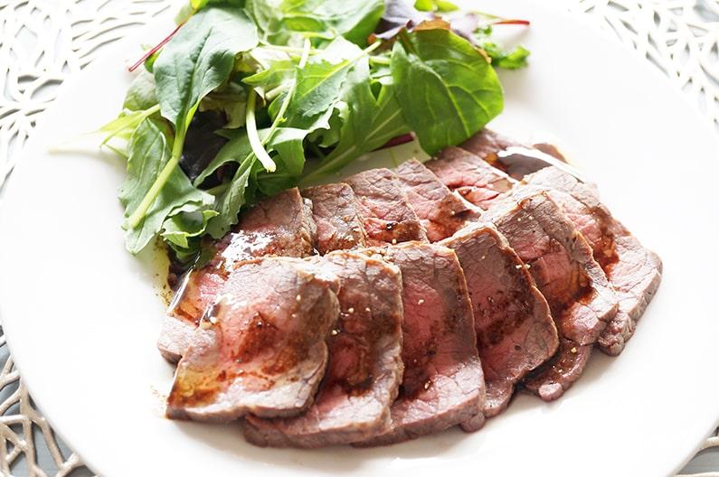 あさイチのローストビーフのレシピ。フライパンで出来る作り方