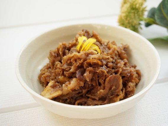 あさイチの牛ロースとれんこんの揚げ煮のレシピ。
