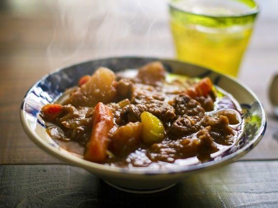 大原千鶴さんのビーフシチューのレシピ。簡単にできる作り方。