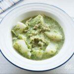 かぶの丸ごとグリーンシチューの作り方。あさイチで話題のレシピ。