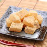 家事ヤロウの豆腐餅のレシピ。片栗粉で簡単スイーツ。