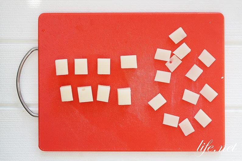 家事ヤロウの揚げない餅おかきのレシピ。電子レンジで簡単!
