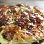 ケンミンショーのカキオコのレシピ。岡山県の牡蠣お好み焼き。