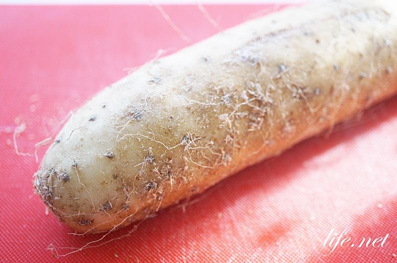 ガッテン!長芋のレシピ。便秘解消に効果的。