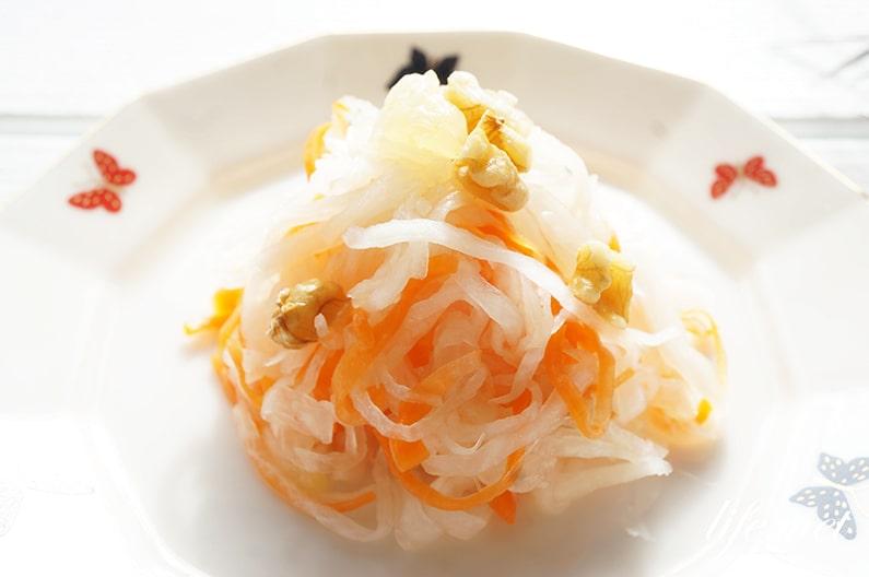 くるみ入りなますの作り方。大原千鶴さんの絶品レシピ。