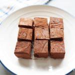 豆腐生チョコのレシピ。ダイエット中にもおすすめなヘルシーチョコ。