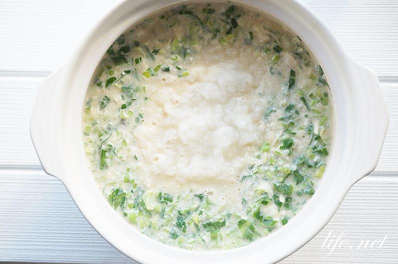 あさイチのぶりと青菜のみぞれ鍋のレシピ。野崎洋光さんの作り方。