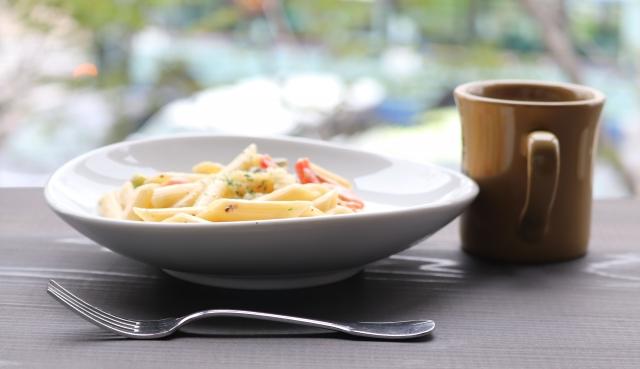 平野レミさんのポパイパスタのレシピ。鶏レバーとほうれん草のパスタ。