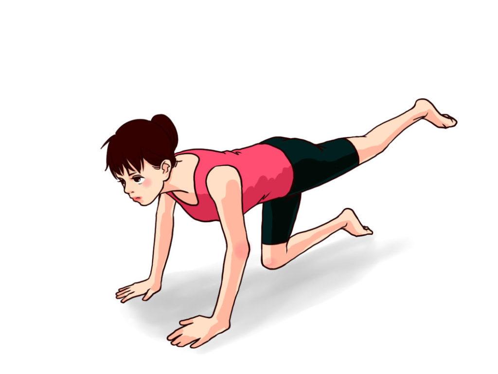 あさイチのゆるトレのやり方。簡単にできる筋肉体操5つ。