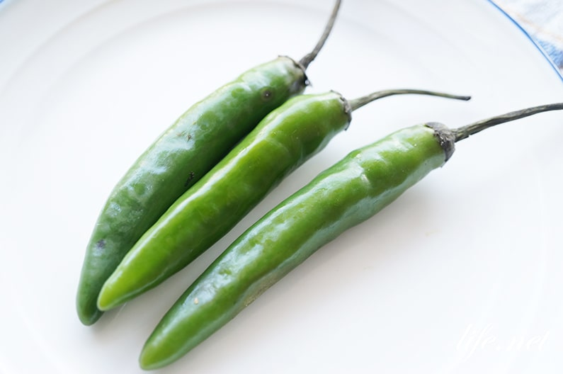 青唐辛子を使った料理のレシピ6品。辛さが人気のメニューまとめ。
