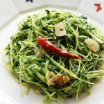 豆苗の人気レシピ8品まとめ。簡単サラダやスープ、絶品炒め物まで。