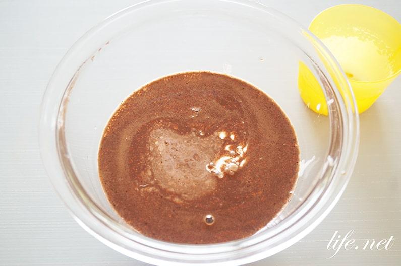 男子ごはんのチョコレートプリンのレシピ。栗原はるみさんの作り方。