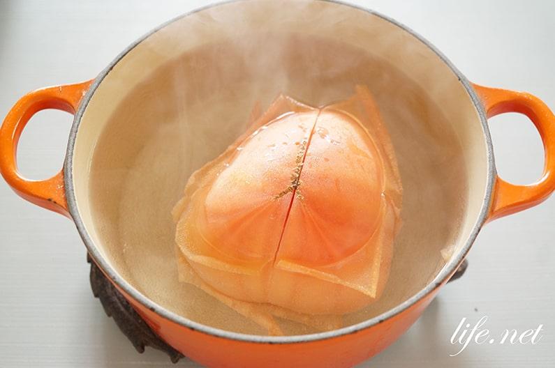 男子ごはんのトマトしょうゆ鍋のレシピ。しめはリゾットで。