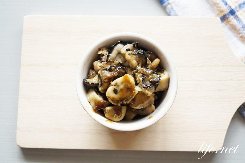 あさイチの食べるオイスターソースのレシピ。牡蠣とみりんだけで!