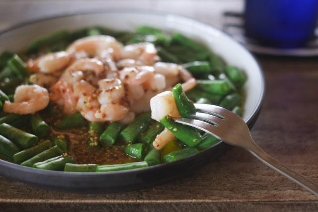 栗原はるみさんのえびのマリネサラダのレシピ。きょうの料理で話題。