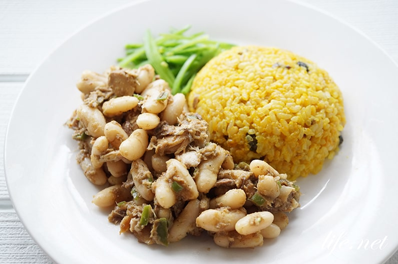 白いんげん豆と鯖缶のスパイスカレーのレシピ