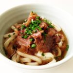 肉うどんのレシピ。あさイチで話題の北九州のご当地料理。