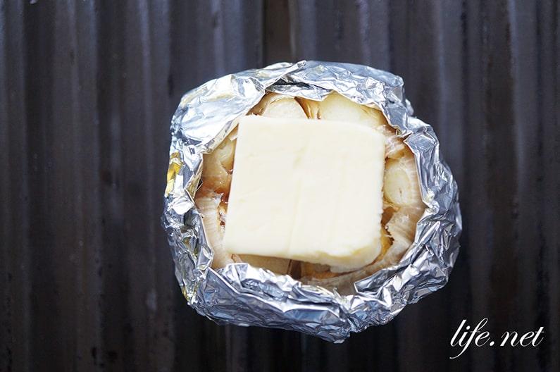 家事ヤロウの丸ごとにんにく焼きのレシピ。焼肉牛角の人気メニュー。
