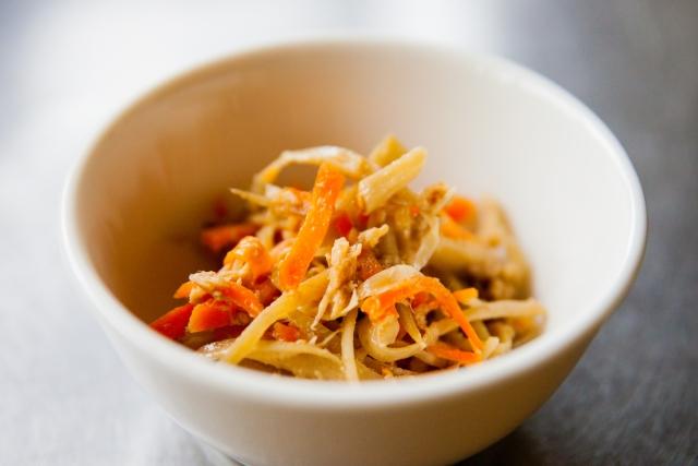 あさイチのたけのこのきんぴらのレシピ。根元の部分でできる。