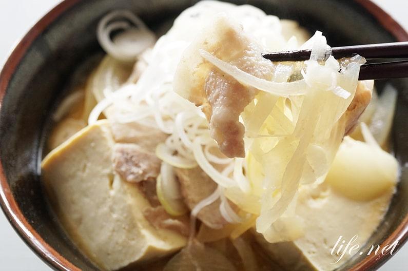 豚汁ラーメンの作り方。ケンミンショーで話題の新潟のご当地料理。