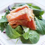 あさイチのお刺身のわさびマリネのレシピ。和えるだけ、減塩にも。
