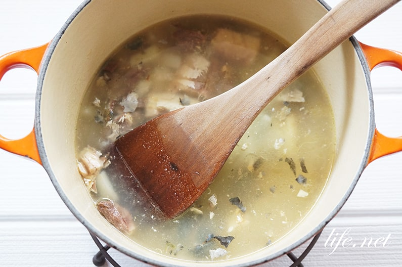 鯖缶のポタージュスープのレシピ。水煮缶とフライドポテトで簡単!