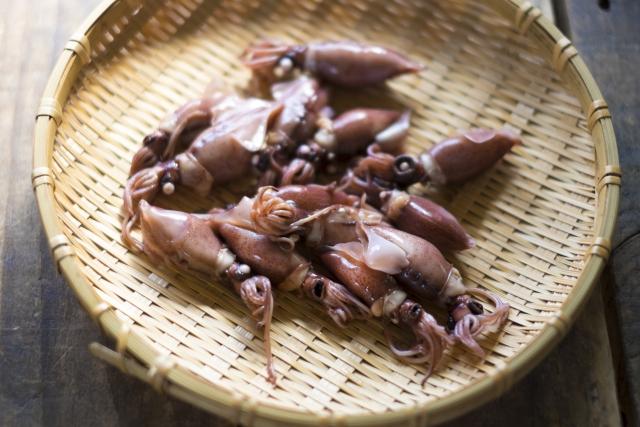 志麻さんのホタルイカと豆苗のガーリックオイルのレシピ。簡単!