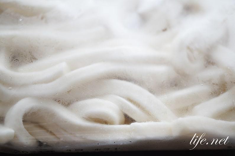 冷凍うどんの解凍方法は電子レンジがおすすめ。茹でるより簡単!