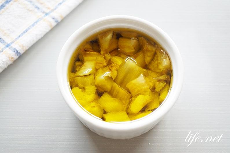 焼きナスのオリーブオイル漬けのレシピ