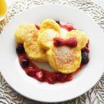 ディズニー公式フレンチトーストのレシピ。センターストリートコーヒーハウスのメニューを再現。
