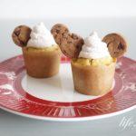 ディズニーランド公式マフィンのレシピ。ストロベリーチョコチップマフィン。