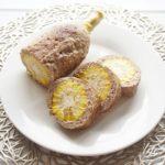 志麻さんのとうもろこしソーセージのレシピ。豪快!豚ひき肉巻き。