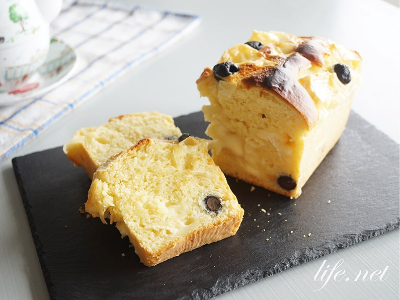 志麻さんのケークサレのレシピ。ホットケーキミックスとカマンベールで。