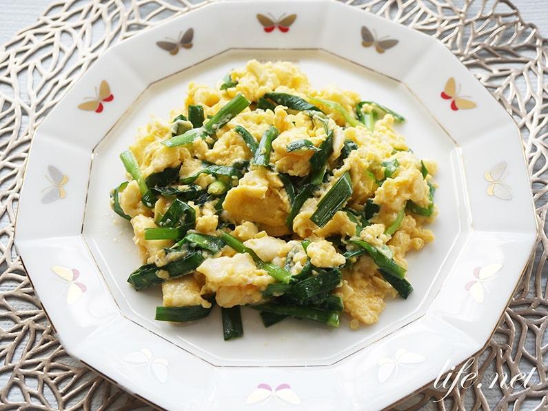 平野レミさんのニラ玉のレシピ。ナンプラーがない時は別の調味料でも美味しい。