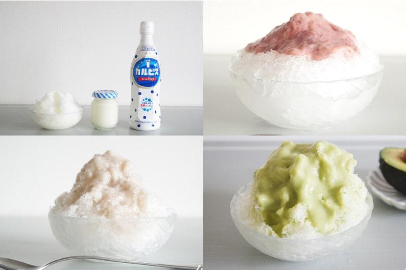 かき氷のレシピ7品。簡単手作りシロップと美味しく作るコツまで。