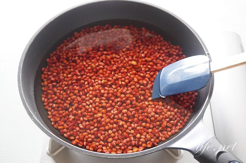 ガッテンの手作りあんこのレシピ。小豆が便秘解消にも効果的。
