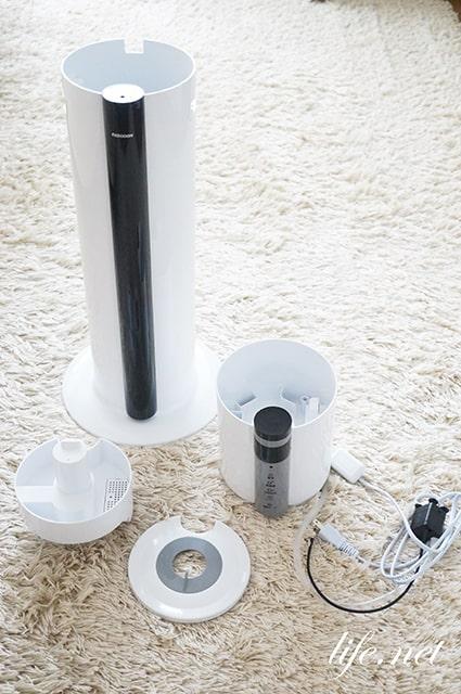 KEECOONの7L大容量超音波式加湿器を紹介。スマホ連動も可能!