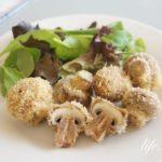 ガッテンのマッシュルームフライのレシピ。簡単!揚げるだけ。