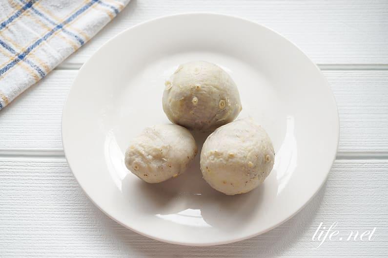 里芋の蒸し方。電子レンジで簡単!