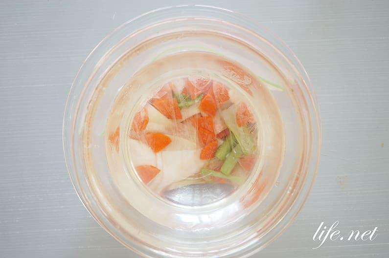 浅漬けと浅漬けの素の作り方。野崎洋光さんの塩だけの基本のレシピ。