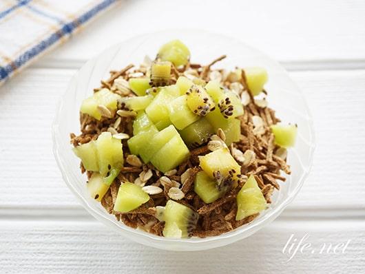 あさイチの朝食ヨーグルトボウルの作り方。発酵性食物繊維ダイエットに!