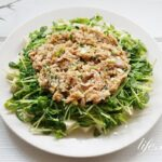 志麻さんの豆腐と豆苗のツナサラダの作り方。電子レンジで簡単!
